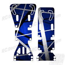 T-Maxx / E-Maxx INTEGY Skid Plate Protectors Death Metal Blue - Traxxas