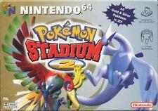 N64 / Nintendo 64 Spiel - Pokemon Stadium 2 ENGLISCH Modul