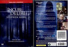 INCUBI E DELIRI II (Stephen King) - DVD NUOVO E SIGILLATO, PRIMA STAMPA, RARO!