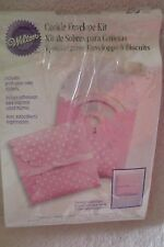 Wilton Cookie Envelope Kit Pink Party Favor/Baby Shower New