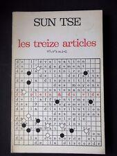 LES TREIZE ARTICLES - PAR SUN TSE