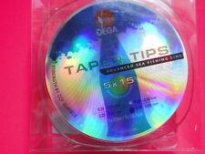 TAPERLINE 220m CLEAR SCHLAGSCHNUR VORFACH 0,28 - 0,60 MM JENZI BRANDUNG SURF