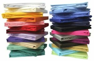Bed Skirt Box Pleat All Solid Color King Size Select Drop Length  1000 TC