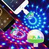 Mini LED Discokugel Lichteffekt Partylicht Bühnenlicht USB RGB Party Phone Licht