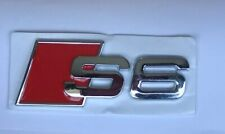 S-Line Audi Sports Chrome Metal S Boot Badge A6 S6 RS6