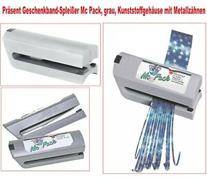 Ringelband Splitter m Metall Geschenkband Spleisser Bandspleißer Bandsplitter