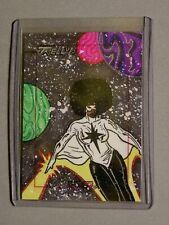 Marvel-Dangerous Divas-Tom Kelly-Comic-Original-SketchaFEX-Sketch Card