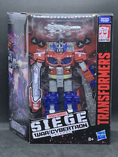 HasbroTransformers War For Cybertron:Siege - Leader Galaxy Upgrade Optimus Prime