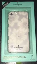Kate Spade New York Hollyhock Floral Clear w/ Stones Case Cover iPhone 6 6s 7 8