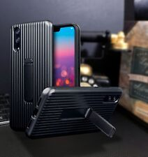 Huawei  P20 PRO  Rugged  Bumper Cover   Case With Stand Black   ISPORT™