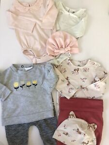Baby Girl Outfit Bundle, (some Unworn Items), Size 000