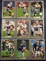 2001 Topps Collection DALLAS COWBOYS Complete Team Set 13 EMMITT, AIKMAN, WILEY+