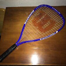 Wilson Crushing Power Express Titanium Racquetball Racquet