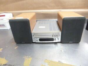 Denon CD receiver RCD-M33 with Denon SC-MS3 speakers.