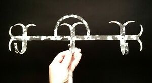 Antique Vintage Style Iron Wall Utensil Herb Coat Hook