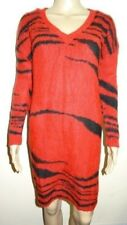 Women's Missguided Contrast Stripe Knitted Dress Red UK Size 6/EU 34 VR69 010