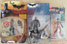 *RARE* Batman Action Figures Blade DEATHSTROKE Firewall ROBIN Red SCARECROW