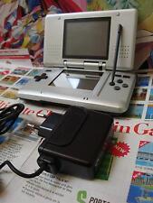 Nintendo DS:Console de jeu [ARGENT / OFFICIEL / MODELE ORIGINAL] SEUL - Fr