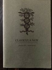 Clavicula Nox Issue 1 by Ixaxaar 2004
