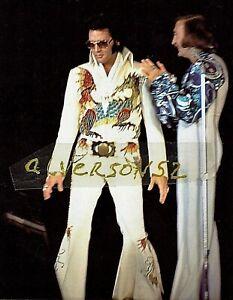 ELVIS PRESLEY CONCERT PHOTOGRAPH - DAYTON OH - OCTOBER 6, 1974 (Evening show)