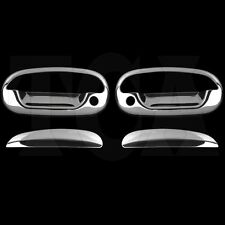 FOR FORD F-250 F250 LIGHT DUTY 97 98 1999 CHROME 2 DOOR HANDLE COVERS W/ Keyhole