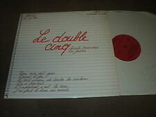 "@ LE DOUBLE CINQ 33 TOURS LP 12 "" FRANCE *COVER AUFRAY DYLAN BECAUD"