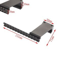 For Laser Flashlight Dot Sights Adaptor Picatinny Weaver 20mm Rail Mount