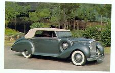 1949 Bentley, Mark VI Drophead Coupe (unmailed postcard(autoB#124*2
