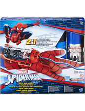Spiderman Marvel 2 in 1 SUPER web di centrifugazione Blaster con Guanto