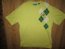 ENYCE Clothing Co. Men's Short Sleeve Yellow Polo Shirt, Size: XL