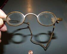 Antique Childrens Reading Glasses Civill War Era