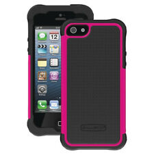 7924805a9e7 Ballistic Screen Guard Case - Black/ Hot Pink for iPhone 5 5s SE