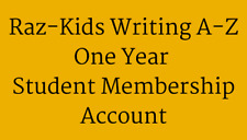 Raz-Kids Writing A-Z Student One Year Subscription Account