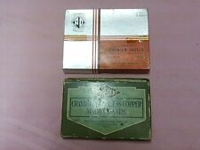 Antique Dentist Accessories 2 Boxes of Aluminum/Copper Matrix Bands Assorted