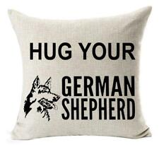Feleniw Animal Pet Dog German Shepherd Throw Pillow Cover Cushion Case.