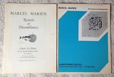2 catalogues MARCEL MARIËN Resucées et Dissemblances + Homogeneous heterogeneity