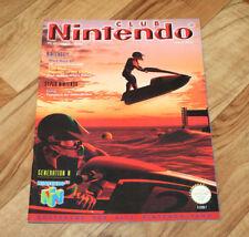 1997 Vintage Club Nintendo Magazine Wave Race 64 Kirby Super Star Donkey Kong 3