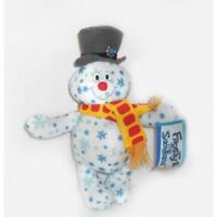 """Holiday Snowflake Frosty the Snowman Plush 10"""" Brand New With Tags"""