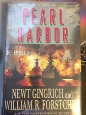 Pearl Harbor: a Novel of December 8-ex Library Copy-Gingrich Forstchen Good Cons