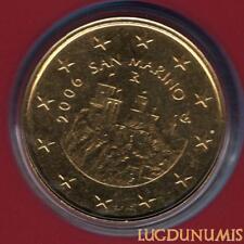 Saint Marin 2006 50 Centimes D'Euro BU FDC 70 000 exemplaires Provenant du BU RA