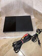 Sony PlayStation 2 Slimline Black Spielekonsole (PAL - SCPH-90004)