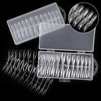 240pcs/box False French Nail Art Acrylic UV Manicure Tips Cover Set DIY T Td