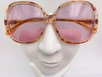 Vintage Castalina 535 Brown Translucent Butterfly Sunglasses FRAMES ONLY