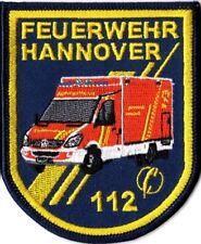 Abzeichen Feuerwehr Hannover RTW (8 x 10 cm), Sammlerabzeichen limitiert