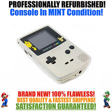 *NEW SCREEN* Nintendo Game Boy Color GBC Custom Pokemon Gold System MINT