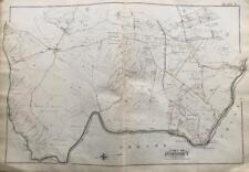 1898 Baltimore Co Maryland Ellicott City Belmont Thistle Oak Forest Atlas Map