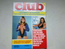 """REVUE ANGLAISE """"CLUB INTERNATIONAL""""  EROTIQUE VOLUME 10 NUMBER 6*"""