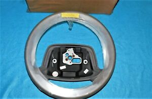 🔥 NOS 94 95 96 IMPALA SS CAPRICE GRAY LEATHER WRAPPED STEERING WHEEL OBSOLETE