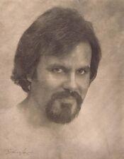 Hendrickson Original Signed Photo Sepia Man With Goatee 11x14