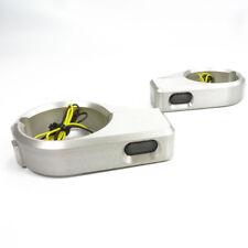 Motorrad LED Mini Blinker und Alu Halter Gabel Montage Motorradblinker E geprüft